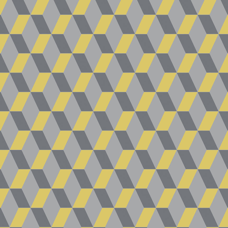 cubic bright yellow