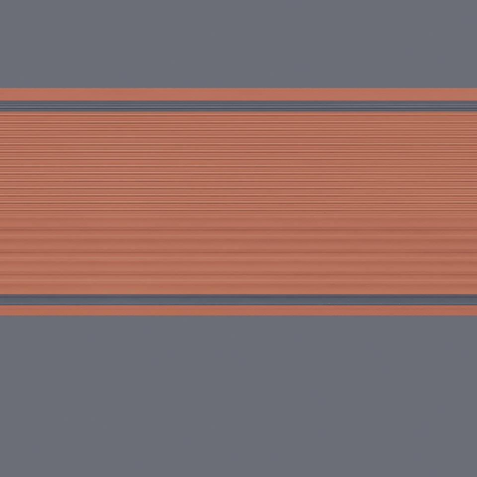 Neon Stairs brihgt ORANGE